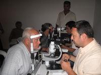 Οφθαλμολογικές εξετάσεις απο την κινητή μονάδα