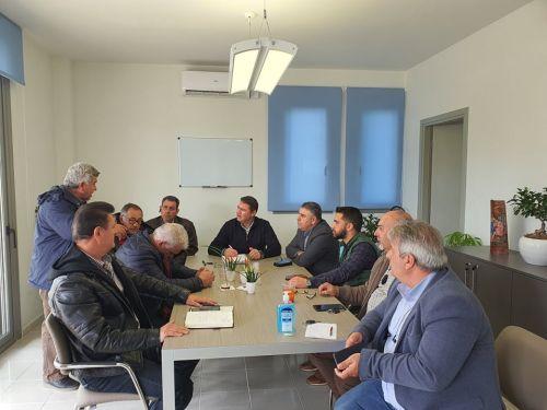 Συνεδρίασε σήμερα η δημοτική Επιτροπή για τη θωράκιση της δημόσιας υγείας από τον κορωνοϊό