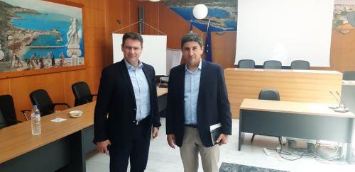 Επίσκεψη του Υφυπουργού Αθλητισμού και Πολιτισμού, Λευτέρη Αυγενάκη