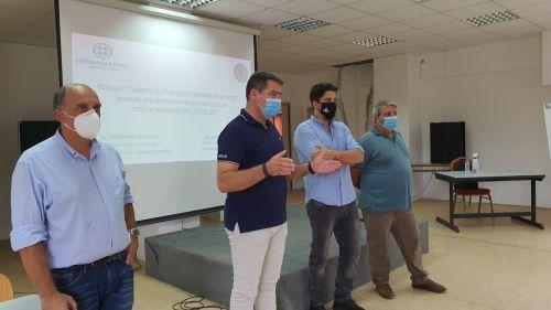Επιμορφωτικό σεμινάριο για τις καθαρίστριες των σχολικών μονάδων