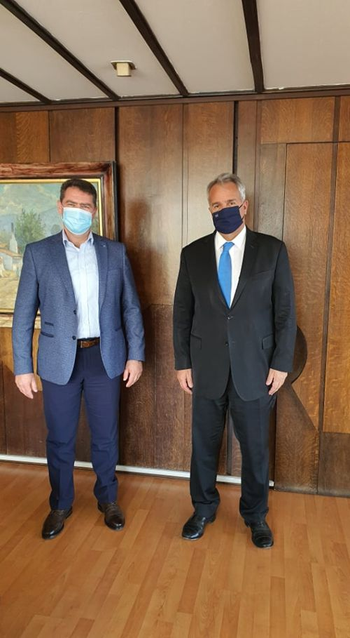 Συναντήσεις Δημάρχου με Υπουργούς Εσωτερικών και Τουρισμού χθες, Πέμπτη 25 Φεβρουαρίου στην Αθήνα