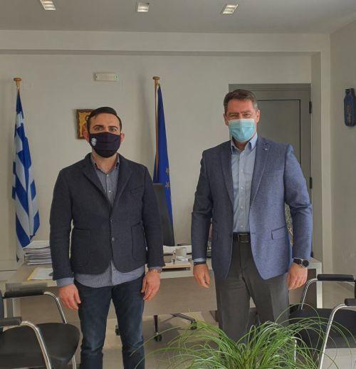 Ανέλαβαν καθήκοντα ο νέος Αντιδήμαρχος, Γιώργος Μπαγουράκης και ο νέος Πρόεδρος του Δημοτικού Λιμενικού Ταμείου, Κώστας Παρλαμάς